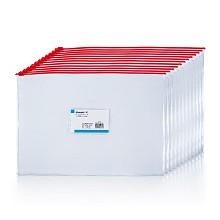 广博(GuangBo)P0006 文件袋透明拉链袋 A4PVC12只/包 单色随机