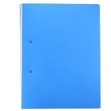 广博(GuangBo)WJ6154 档案夹长押夹 8寸长押夹+插袋A4单个装 蓝色