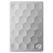 希捷(Seagate)STEH2000300 睿致Ultra Slim系列 2.5英寸移动硬盘 2T USB3.0接口 9.6mm纤薄 银色