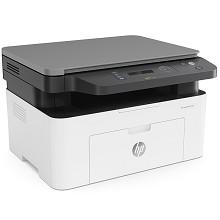 惠普(HP)Laser MFP 136w A4黑白激光多功能一体机 打印/复印/扫描 支持无线网络打印 20页/分钟 手动双面打印 适用耗材:W1110A 一年保修