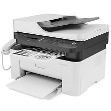 惠普(HP)Laser MFP 138p A4黑白激光多功能一体机 打印/复印/扫描/传真 USB连接打印 20页/分钟 手动双面打印 适用耗材:W1110A 一年保修