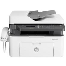 惠普(HP)Laser MFP 133pn A4黑白激光多功能一体机 打印/复印/扫描/传真 支持有线网络打印 20页/分钟 手动双面打印 适用耗材:W1003AC 一年保修
