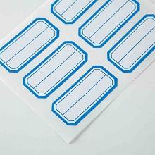 广博(GuangBo)ZGT9193 标签/胶贴 23*49mm*6枚*10PCS自粘性标签贴包 蓝色