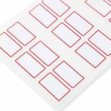 广博(GuangBo)ZGT9194 标签/胶贴 23*33mm*8枚*10PCS自粘性标签贴包 红色