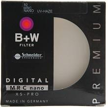 B+W XS-PRO-82NANO MRC UV镜 82mm 超薄多层纳米镀膜