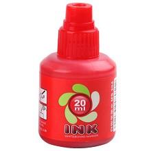 宝克(BAOKE)MS204 白板笔墨水 20ml/瓶 红色