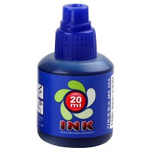 宝克(BAOKE)MS204 白板笔墨水 20ml/瓶 蓝色