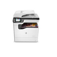惠普(HP)PageWide Color MFP 774dn 彩色页宽多功能一体机 打印,复印,扫描 35页/分 负荷量75000页