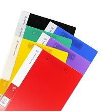 廣博(GuangBo)A2084 資料檔案夾 文件夾A4銳文雙強力夾1個 黑色