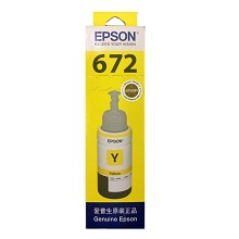 爱普生(EPSON)T6724 黄色墨水 6500页打印量 适用机型:L101/L201/L111/L211/L301/L303/L351/L358/L551/L558/L1300