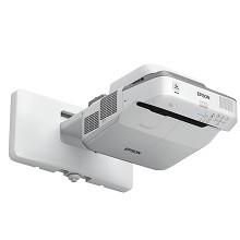 爱普生(EPSON)CB-680 投影仪 3500流明 3LCD显示技术 手动变焦 1024*768dpi 含100英寸4:3电动幕布 两年保修