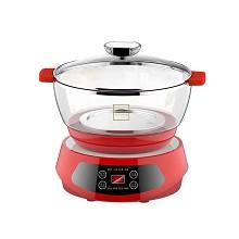 美国康宁  WK-GCPB-KZ 电蒸锅 多功能料理一锅多用2.4L 单台 红色