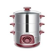 长虹(CHANGHONG)DZG-24S1 电蒸锅 单台 不锈钢原色