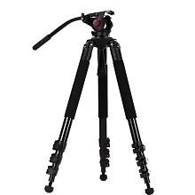 米泊(miliboo)MTT702A 摄像机三脚架 适用机型单反 摄像机 微单 DV