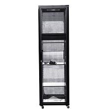 图腾(TOTEN)G3.6642 42U网络机柜 19英寸国际标准机柜 黑色