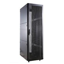 图腾(TOTEN)K38842 42U网络机柜 19英寸国际标准机柜 黑色
