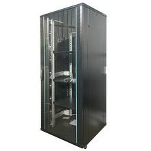 图腾(TOTEN)G2.8042 42U机柜 19英寸国际标准机柜 黑色