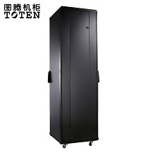 图腾(TOTEN)G26037 网络机柜 19英寸加厚服务器机柜37U 黑色 1年质保