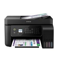 愛普生(EPSON)L5198 A4彩色噴墨多功能一體機 打印/復印/掃描/傳真 支持有線/無線網絡打印 10頁/分鐘 手動雙面打印 適用耗材:004系列 一年保修