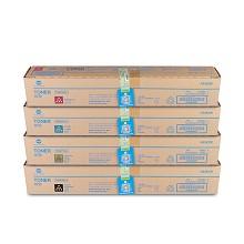 柯尼卡美能达(KONICA MINOLTA)TN220-L 四色碳粉套装(黑红黄蓝) 黑色10000/彩色5000页打印量 适用机型:C221S/C221/C281/C7122/C7128 四支装