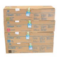 柯尼卡美能達(KONICA MINOLTA)TN314 四色粉盒套裝(黑青紅黃) 黑色26000頁/彩色20000頁打印量 適用機型:C353 四支裝
