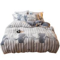 南极人 加厚珊瑚绒三件套 适用于1.2m床 款式备注 含被套*1 床单*1 枕套*1