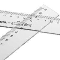 得力(deli)6230 直尺 30cm办公通用测量绘图 单把
