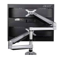 乐歌(Loctek)D7DS 加重版电脑支架显示器支架 多维度气弹簧式支架 单个 黑色