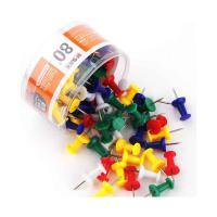 晨光(M&G)ABS92606 工字钉 彩色镀镍PVC筒装 单筒