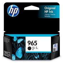 惠普(HP)3JA80AA 黑色墨盒 965系列 1000页打印量 适用机型:HP OfficeJet Pro 9010/9019/9020 单支装