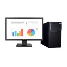 华硕(ASUS)D320MT-I5DA8003 台式电脑 Intel酷睿I5-7400 3.0GHz四核 8G-DDR4内存 1T SATA硬盘+128G固态硬盘 集显 DVDRW 中标麒麟V7.0 ...