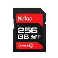 朗科(Netac)P600 SD存储卡256GB U1C10读速高达80MB/S 单个