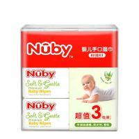 努比(Nuby)9046 湿纸巾 婴儿手口湿巾80抽/包 邮政订制 起订量10000包 单包