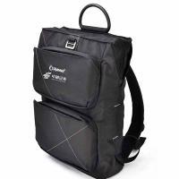 外交官(Diplomat)DS-1266 时尚休闲双肩包 单个 黑色 LOGO定制500个起(烫印 工期15天)