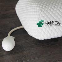 和正(Hezheng)HZ-PW-2 按摩枕 多功能记忆棉护颈可调 加热款 单个 白色 LOGO定制500个起(水洗标定制单色 工期20天)