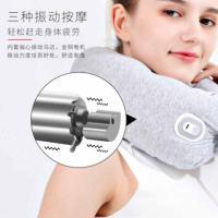 和正(Hezheng)HZ-RMZ-1 颈椎按摩器 乳胶颗粒魔术按摩枕 单个 灰色 LOGO定制500个起(水洗标定制单色 工期20天)