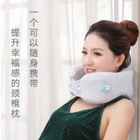 和正(Hezheng)HZ-UJZ-1 颈椎按摩器 U型颈椎按摩枕 单个 灰色 LOGO定制500个起(水洗标定制单色 工期20天)