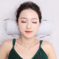 和正(Hezheng)HZ-JAZ-1 颈椎按摩器 颈椎牵引多档振动可调 邮政LOGO定制500个起(水洗标定制单色 工期20天) 单个 灰色