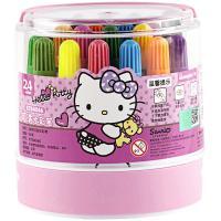 广博(GuangBo)KT84046 HelloKitty版 可水洗水彩笔 24色/筒