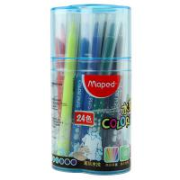 马培德(MAPED)845050 儿童绘画水彩笔 24色/桶 整桶装