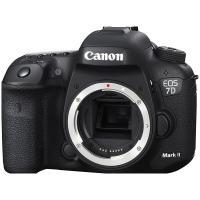 佳能(Canon)EOS 7D Mark II 数码单反相机 单机身 黑色 一年质保