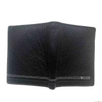 伯特菲尼(PT·FINI)PT1010-Q006 商务休闲牛皮竖身钱包 邮政订制起订量100个 单个 黑色