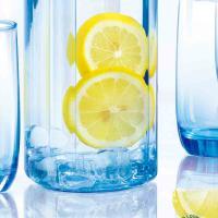 乐美雅(Luminarc)L1769 玻璃杯套装 凝彩直身壶水具5件套钠钙玻璃 邮政订制 起订量1000套 单套