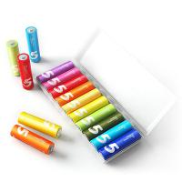 小米(MI)5号紫米彩虹电池碱性 10粒/卡