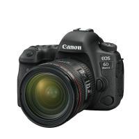 佳能(Canon)EOS 6D Mark II 单反相机 全画幅传感器 2620万像素 3英寸显示屏 45点全十字自动对焦 无机身存储 含EF 24-70mm f/2.8L II USM镜头+相机包+...