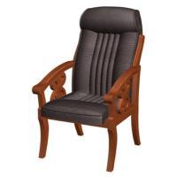 霞客 XK31 仿皮扶手软包椅