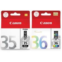 佳能(Canon)PGI-35+CLI-36 黑色墨盒+彩色墨盒套装(适用iP110、iP100) 15天质保