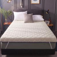 南极人(NanJiren)加厚可折叠床垫子榻榻米垫 1.2m*2m
