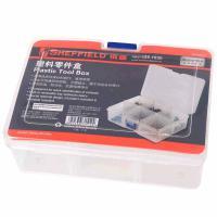 钢盾(SHEFFIELD)S024012 整理箱 塑料零件盒167X126X62mm 12个/包 单包