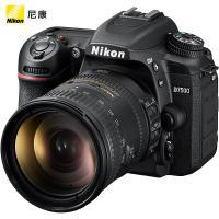 尼康(Nikon)D7500 單反相機 約2088萬有效像素 3.2英寸液晶屏 自動對焦 無內置存儲 含AF-S DX 18-200mm f/3.5-5.6G ED VR鏡頭 一年保修 黑色